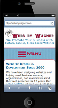 Webs by Wagner Responsive Site