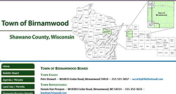Town of Birnamwood, Shawano County, WI