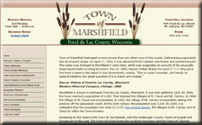 Town of Marshfield, Fond du Lac County